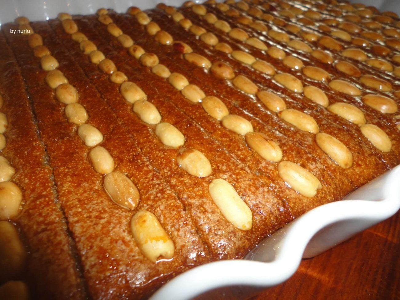 Bademli Şam Tatlısı Tarifi