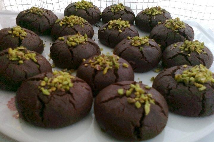 Antep Fıstıklı Kakaolu Kurabiye Tarifi