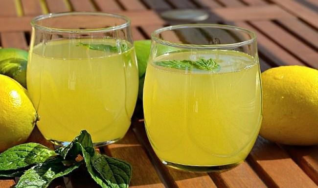 Evde Yapılmış Limonata Tarifi