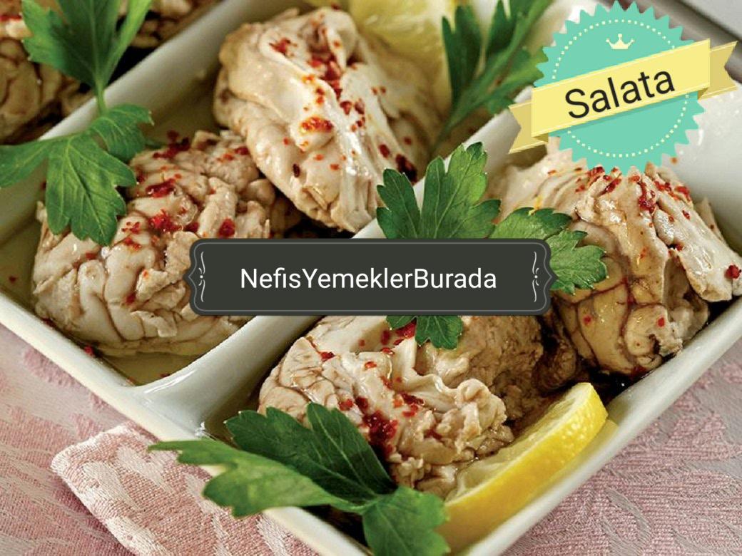 Beyin Salatası Tarifi